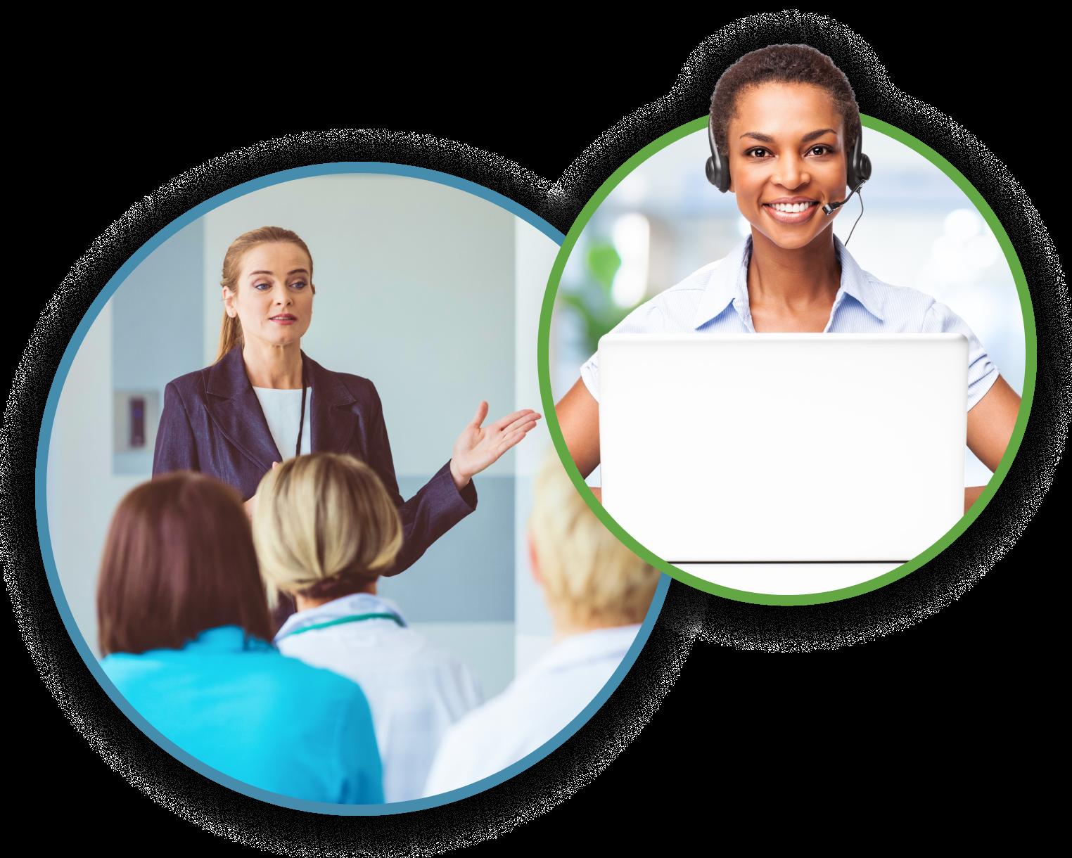 Practice partner training program desktop